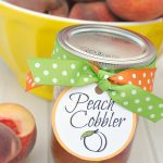 How to Make Easy Peach Cobbler in a Jar