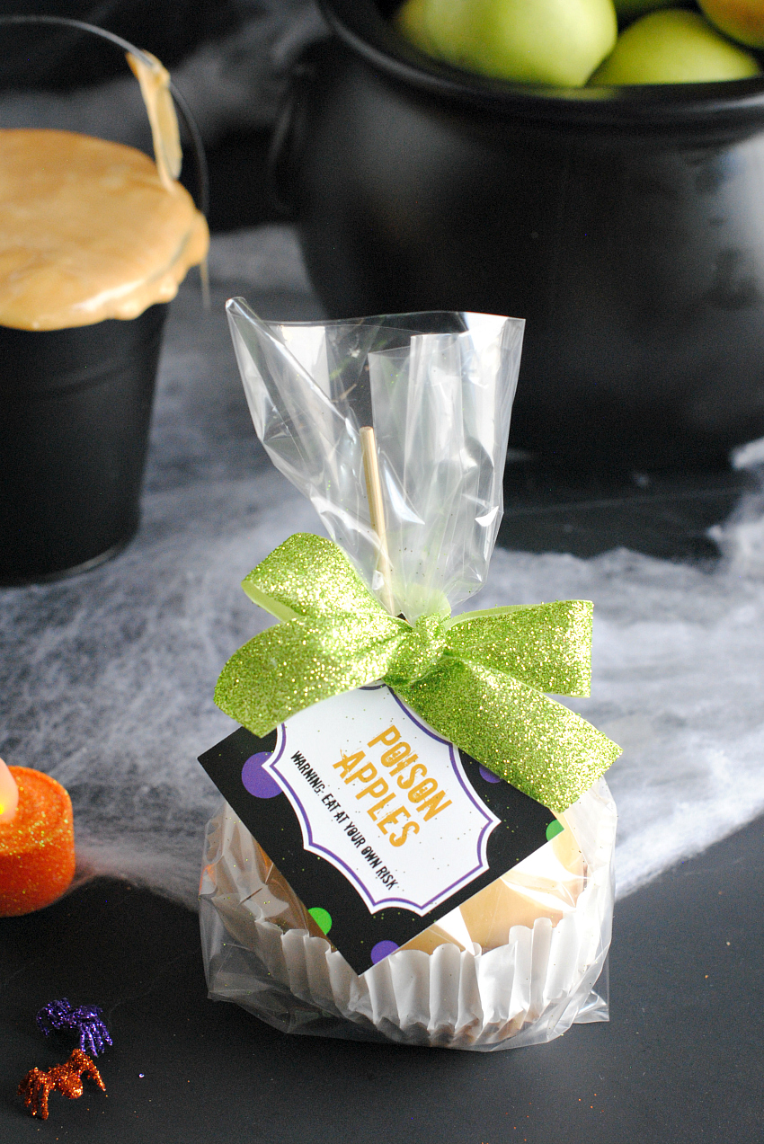 Caramel Apple Gift for Halloween