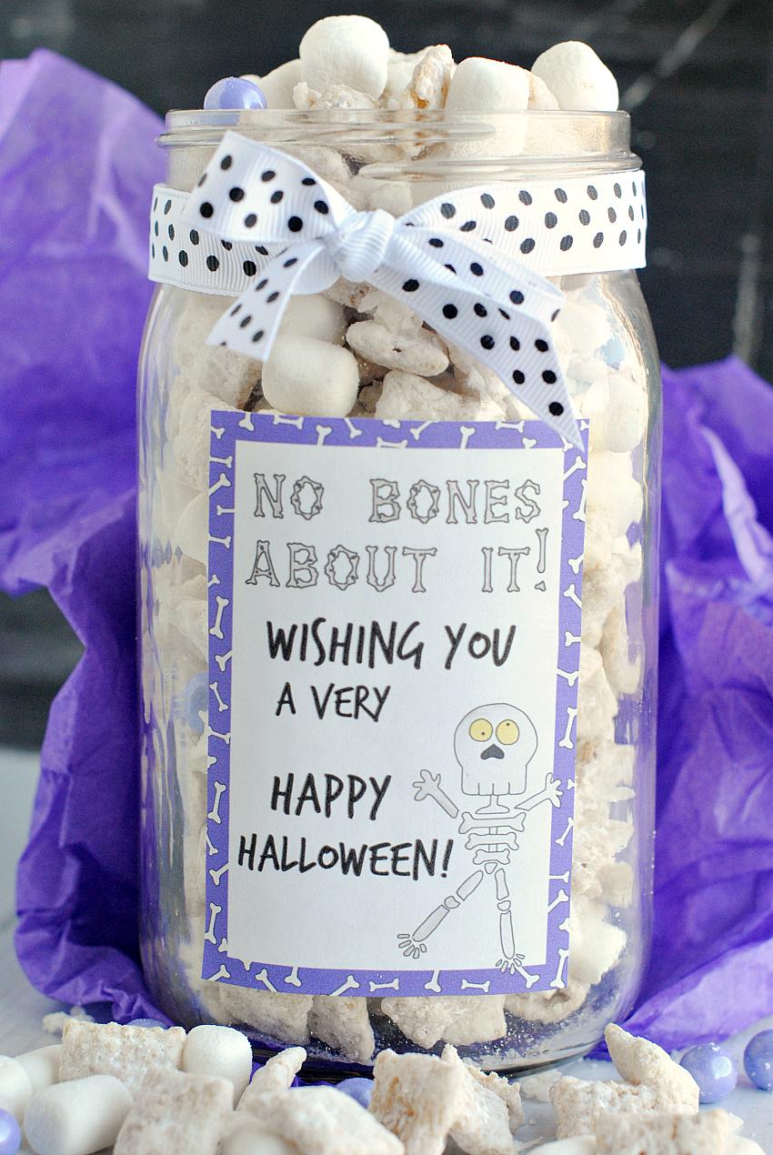 Skeleton Muddy Buddies Gift