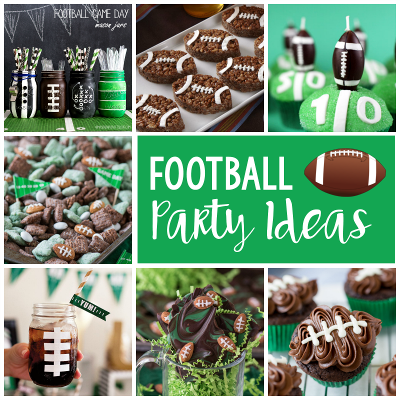 25 fun football party ideas fun squared. Black Bedroom Furniture Sets. Home Design Ideas