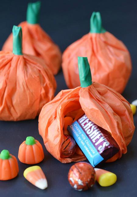 tissue-paper-pumpkins