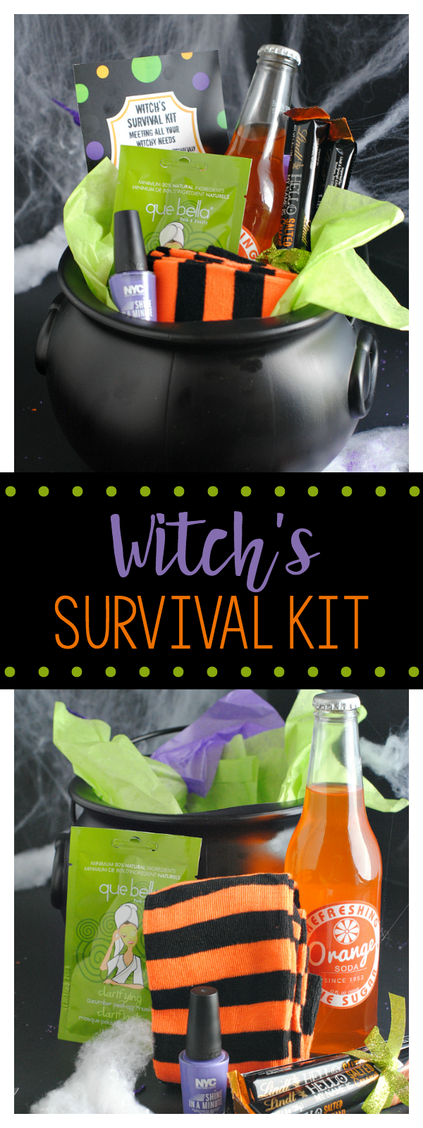 Witch's Survival Kit-Cute Gift Idea for Halloween