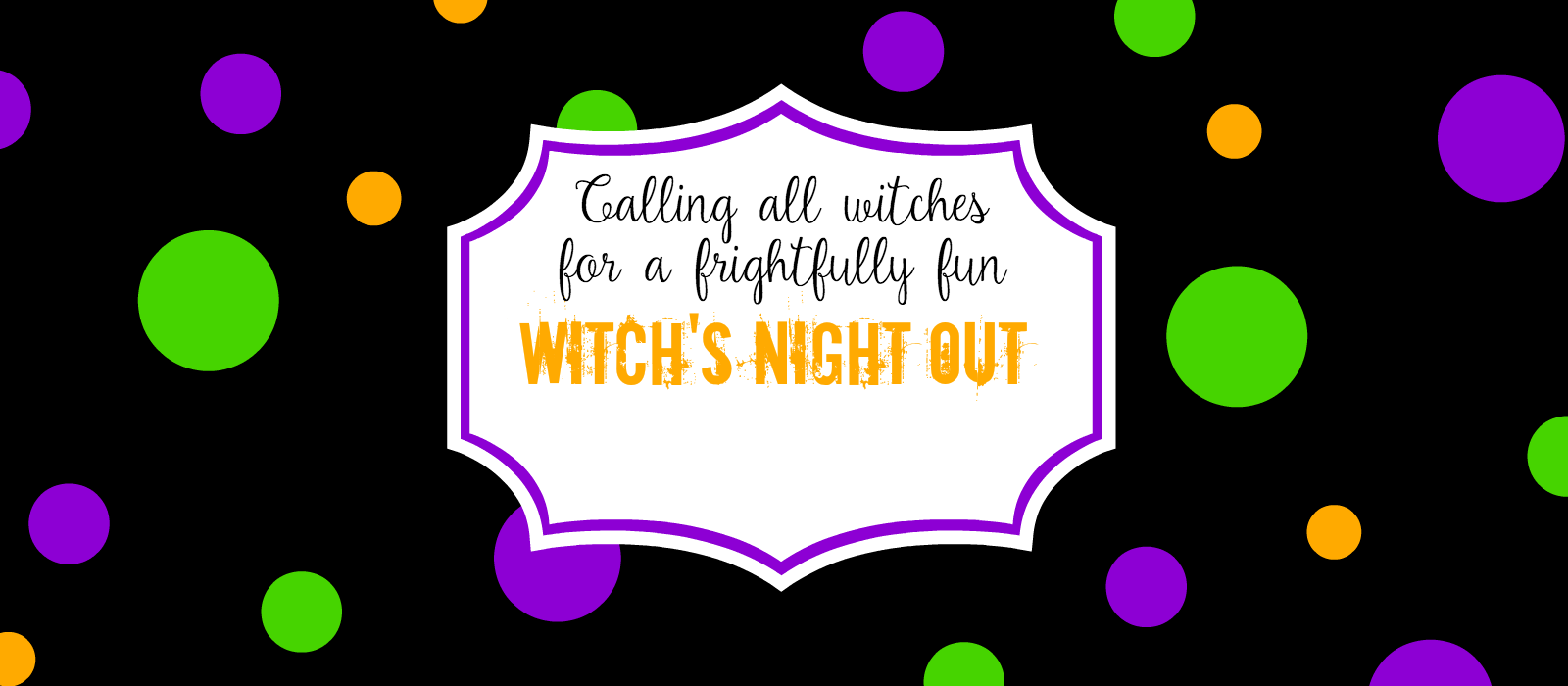 Witch's Night Out Invitations