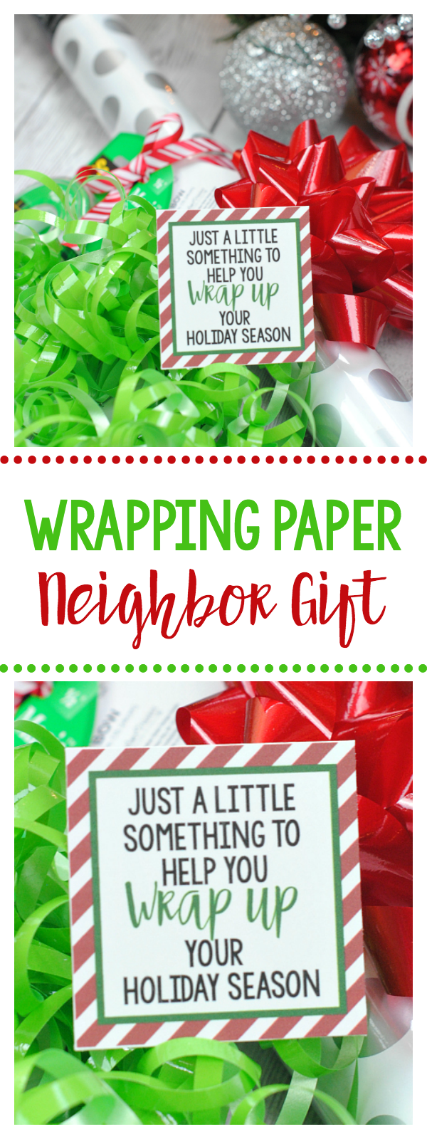 Wrapping Paper Gift for Christmas