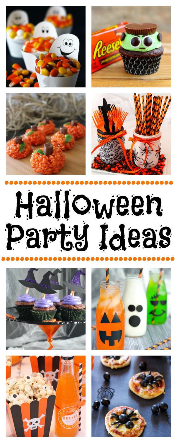 Halloween Party Ideas-Food, Decorations, Games and Party Favors #Halloween #Halloweenparty #halloweenfood #halloweendecorations #halloweefavors #halloweengames