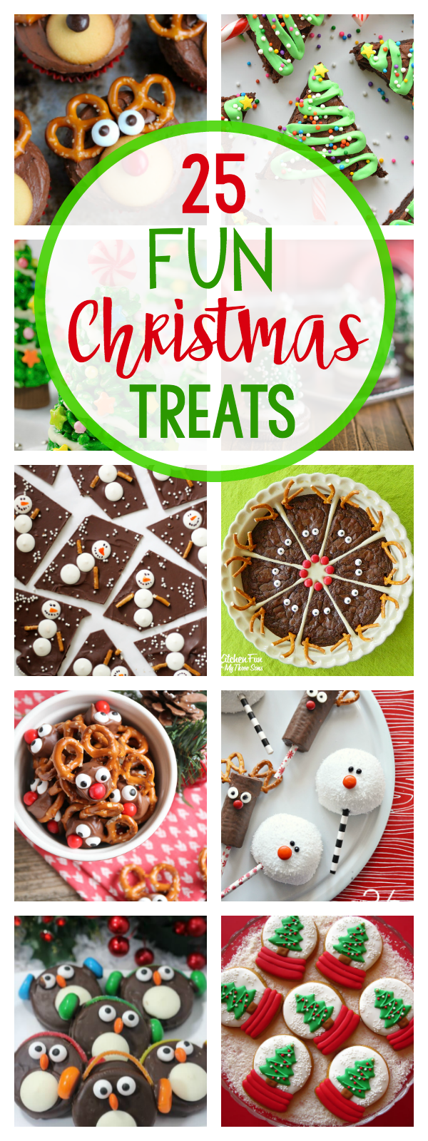 25 Fun Christmas Treat Ideas