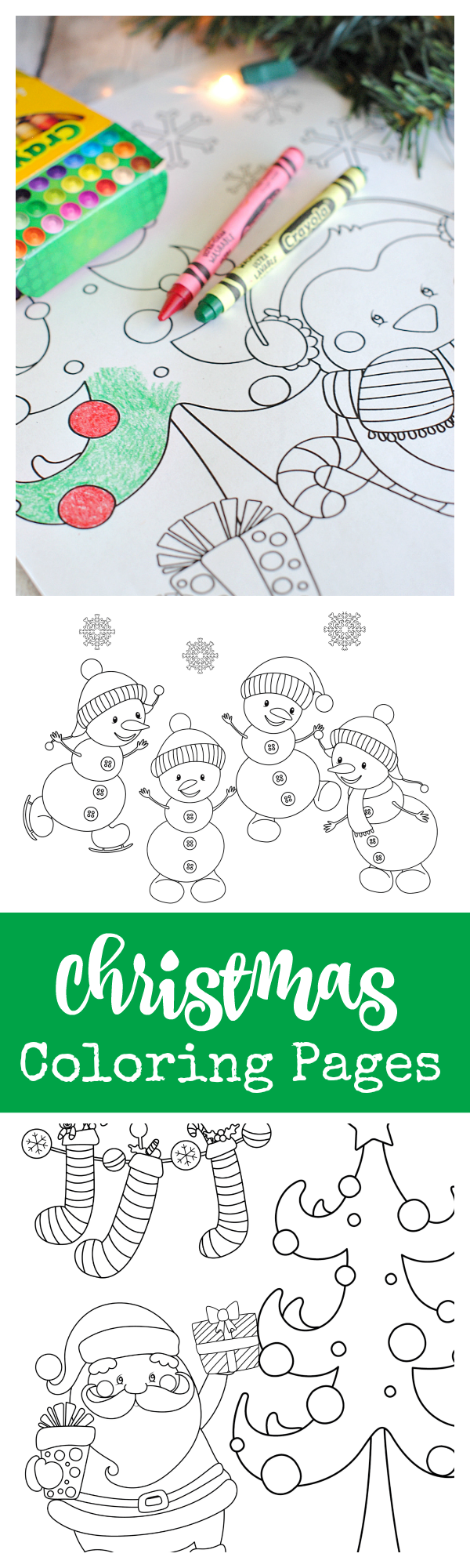 fun christmas coloring pages - 25 kids 39 christmas party ideas fun squared