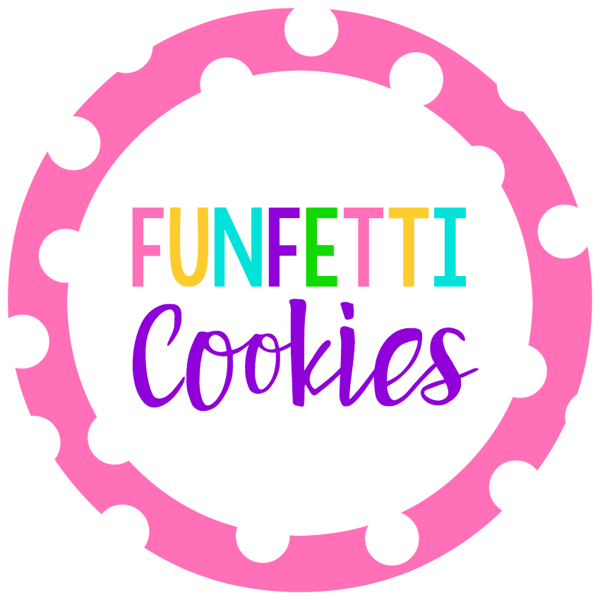 Funfetti Cookie Mix in a Jar Gift Tags