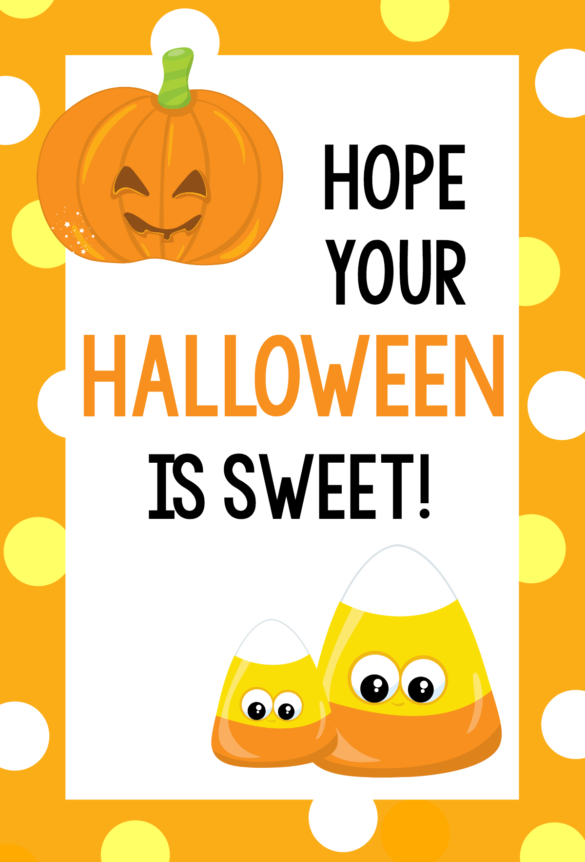 Halloween is Sweet Tag