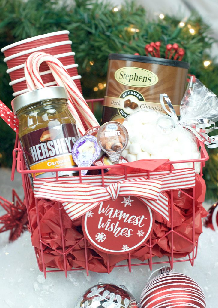 Hot Chocolate Gift Basket Fun Squared