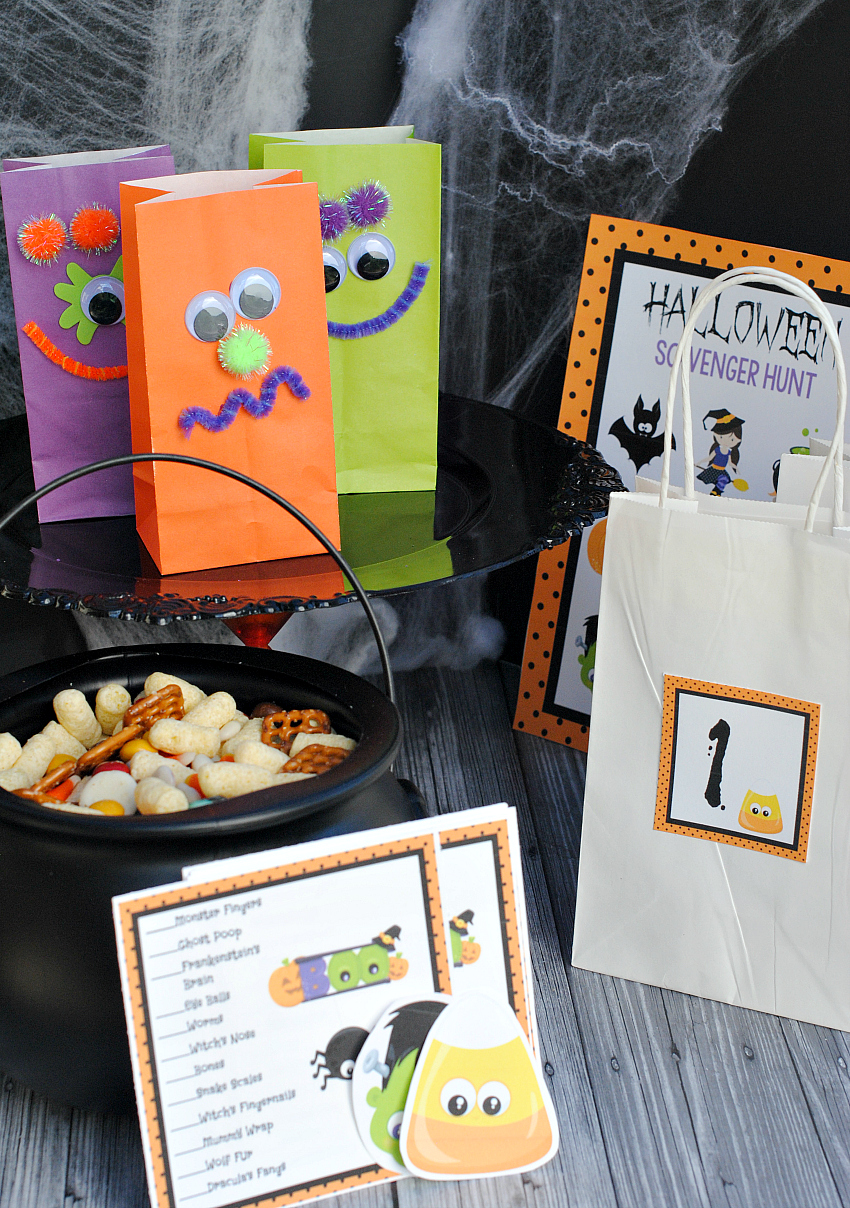 Classroom Craft Ideas ~ Easy fun halloween school party ideas squared