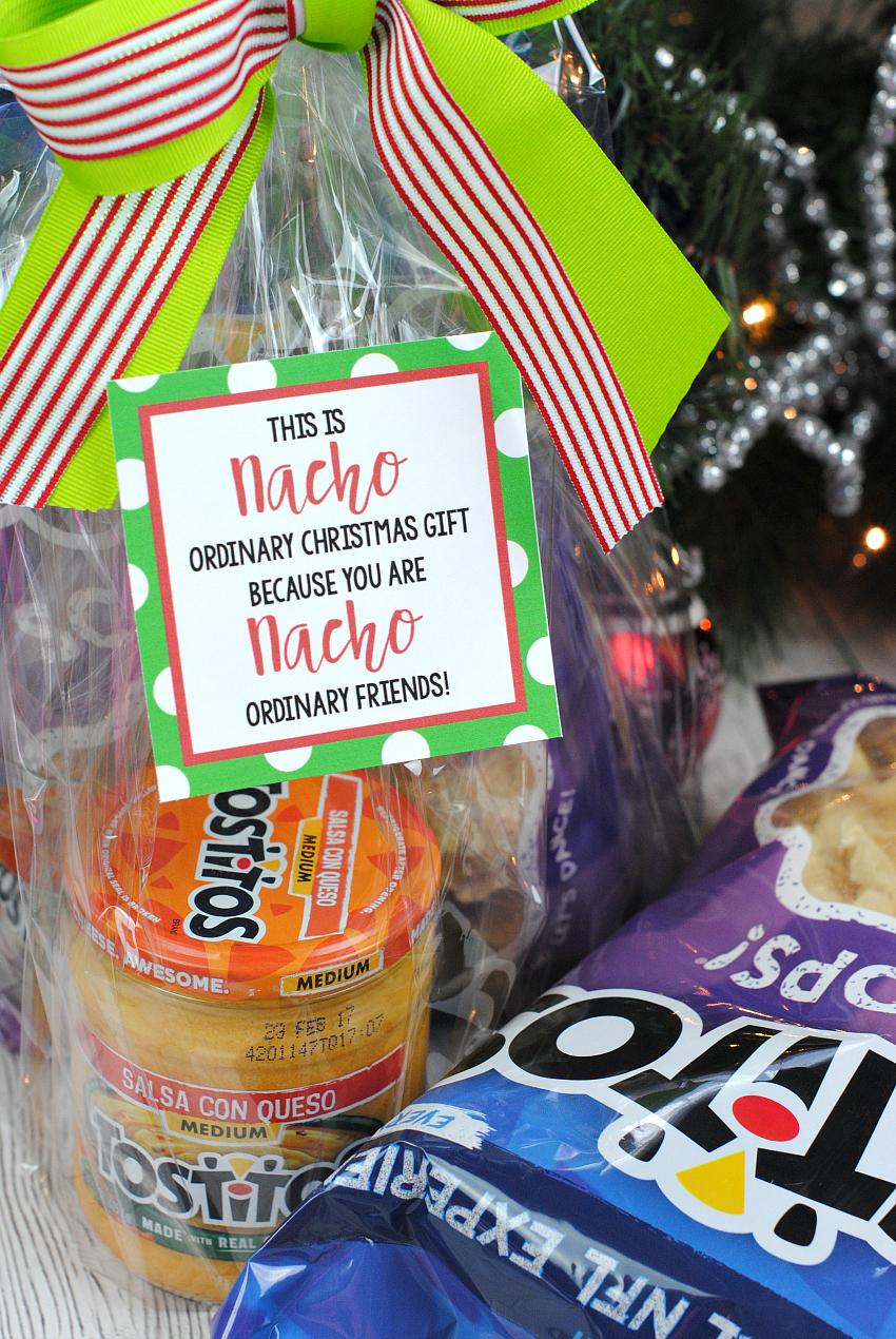 Nacho Neighbor Gift Idea for Christmas