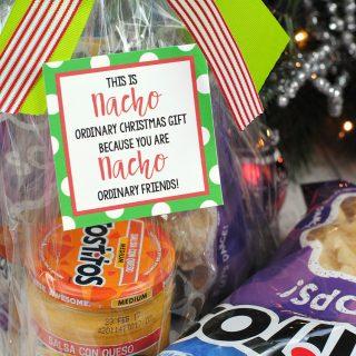 "Funny Christmas Gift Ideas for the Neighbors: ""Nacho"" Gift"