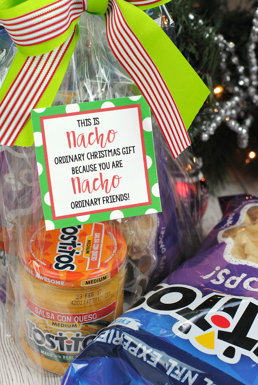 nacho neighbor fun christmas gift idea