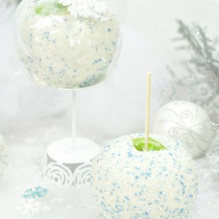 Snowball White Chocolate Caramel Apple Gift