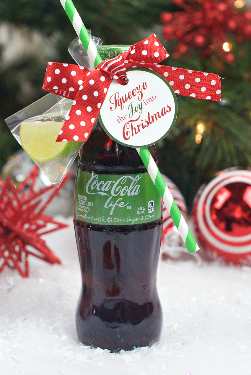 Coca cola gifts for christmas fun squared for Christmas present homemade gift ideas