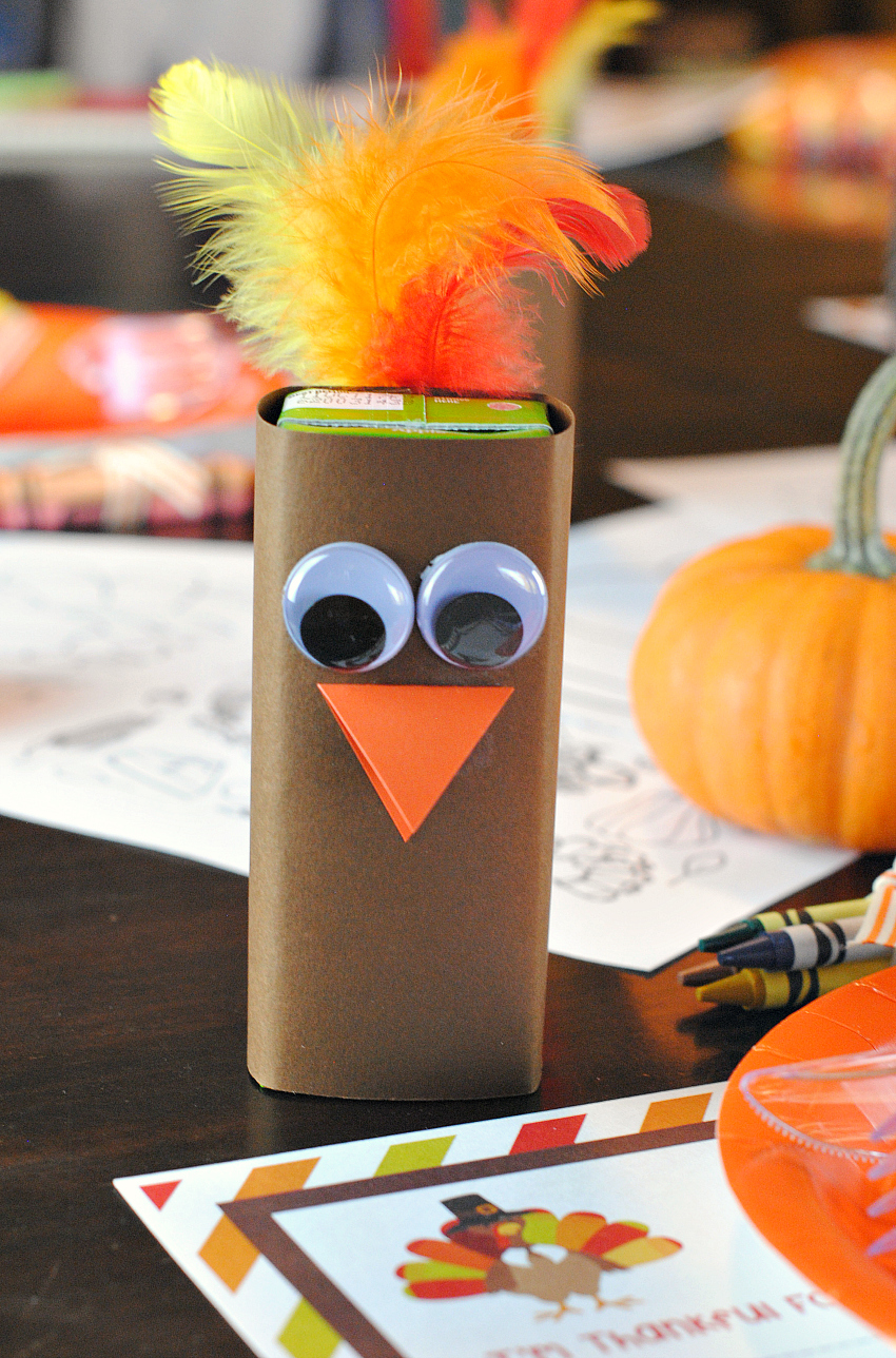 Thanksgiving Kids Table Setting Ideas Fun Squared