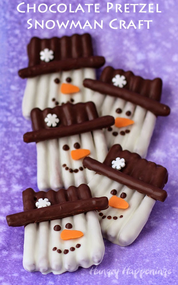 Snowman Treats for Christmas
