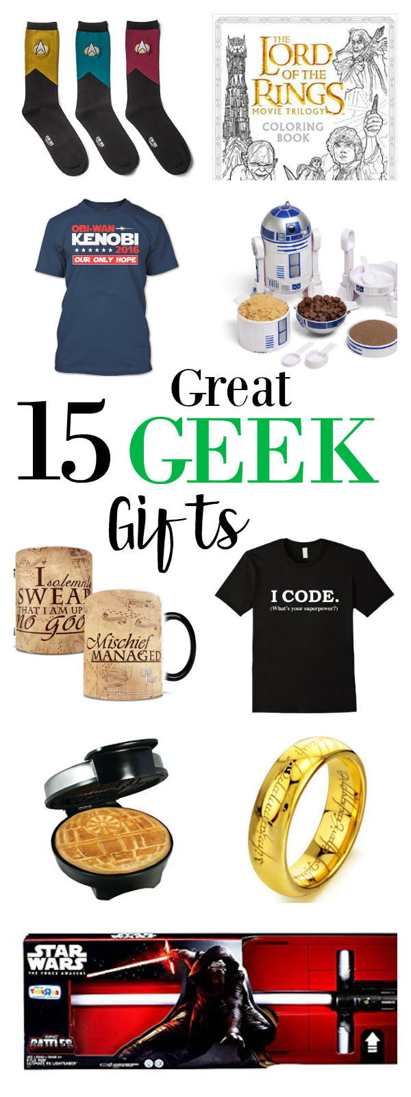 15 Great Geek Gifts