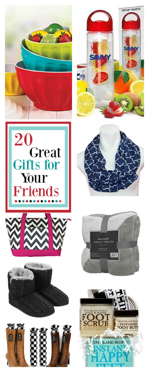 Best Friend Gifts for Christmas-Great Presents for Your Friends