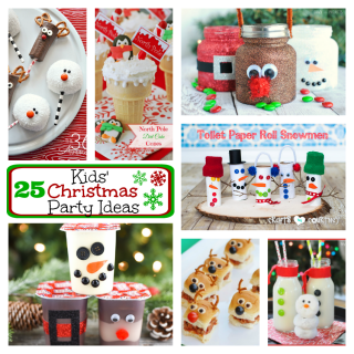 25 Kids Christmas Party Ideas