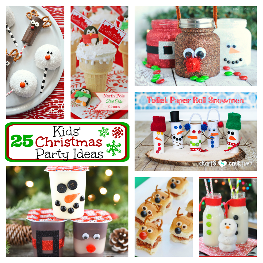 25 fun kids christmas party ideas