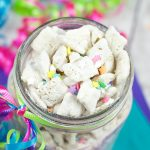 Cake Batter Muddy Buddies-Perfect for Birthdays