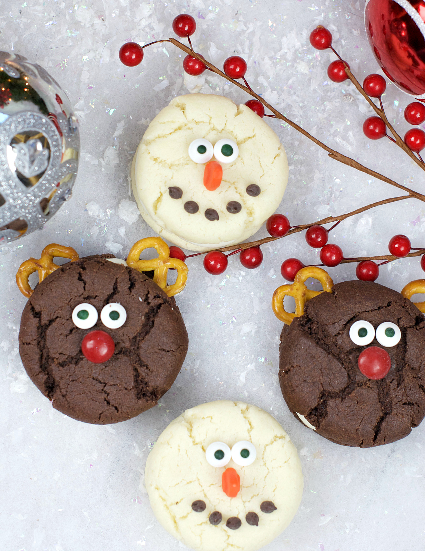 Christmas Whoopie Pies for Kids