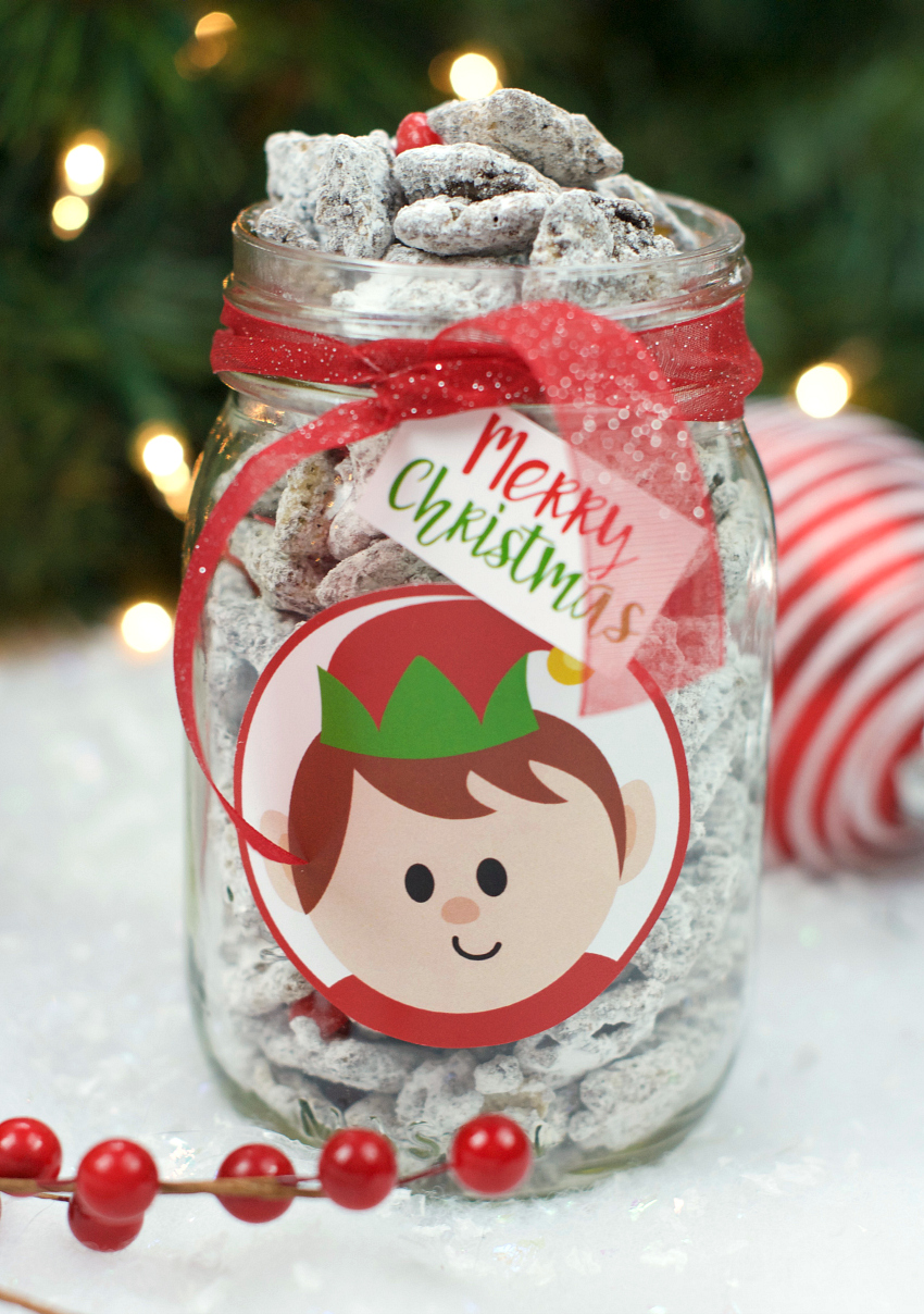 Cinnamon Christmas Muddy Buddies