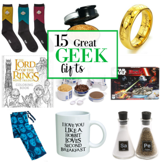 Fun Geek Gift Ideas & Shopping Guide