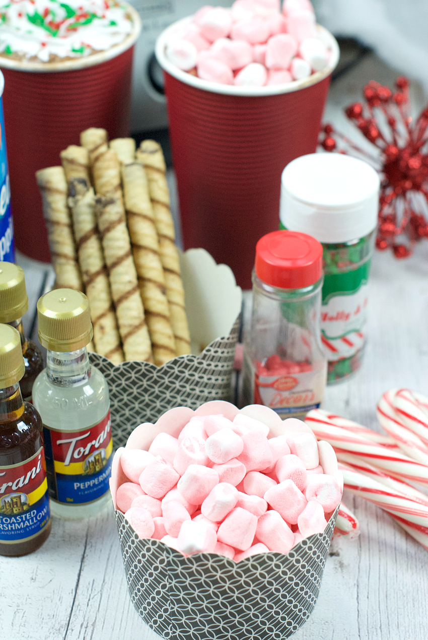 Hot Chocolate Bar for Class Parties