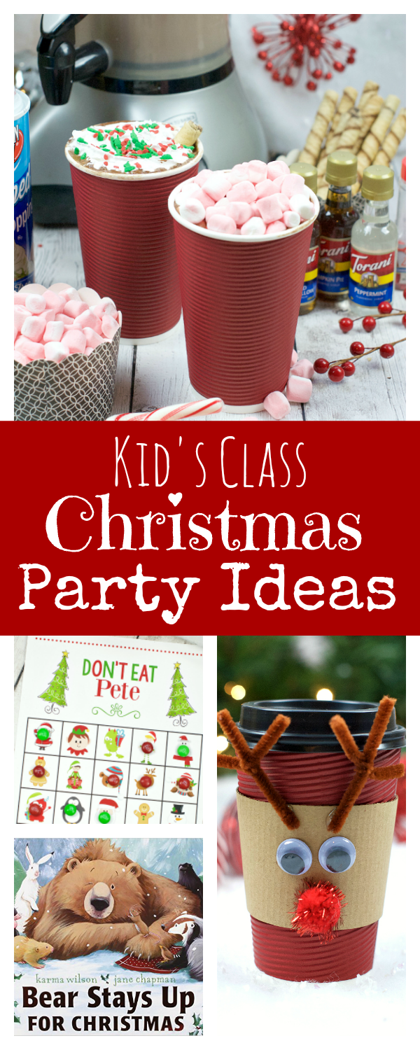 Kid's Class Christmas Party Ideas