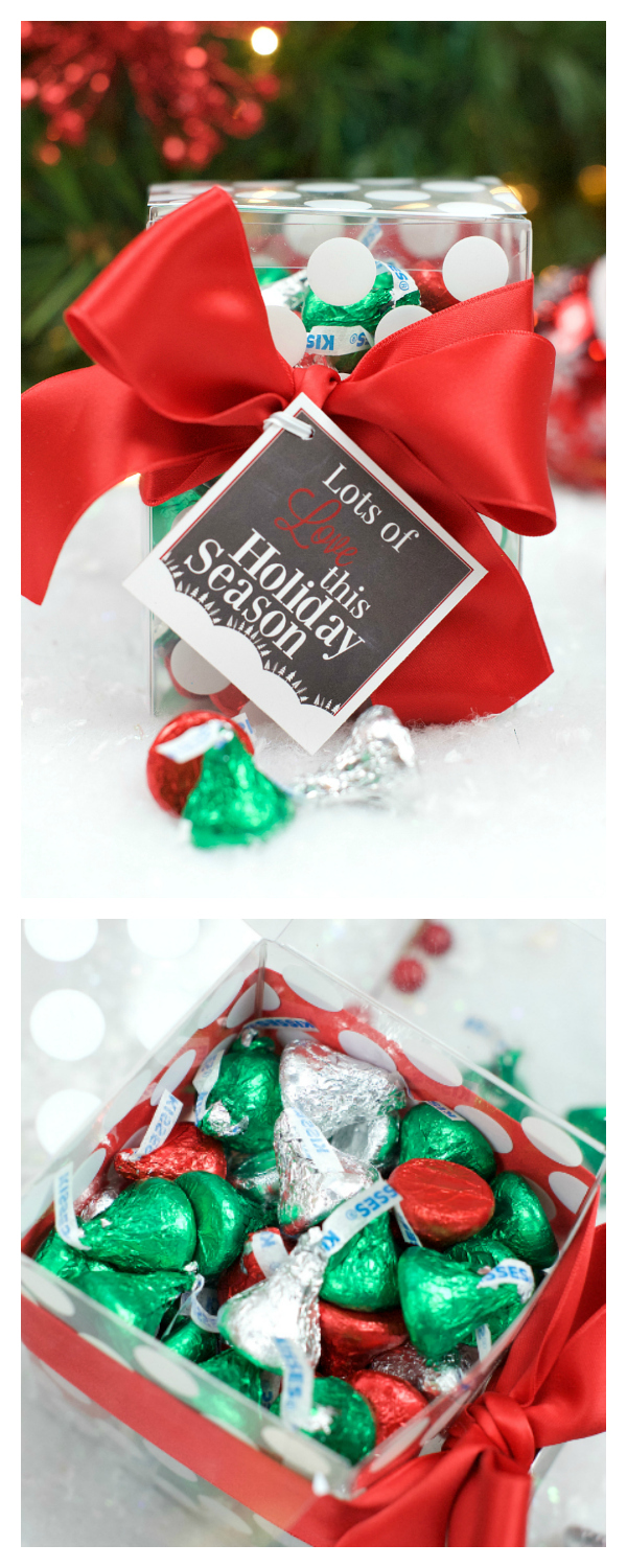 Lots of Love Neighbor Gift Idea with Hershey's Kisses