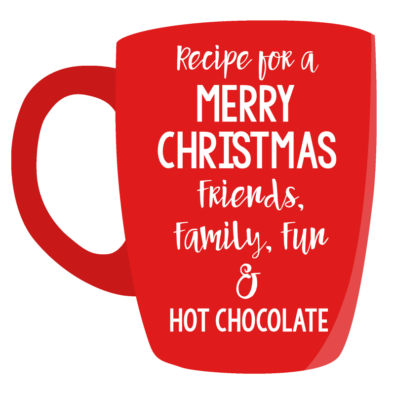 Hot Chocolate Gift Tag