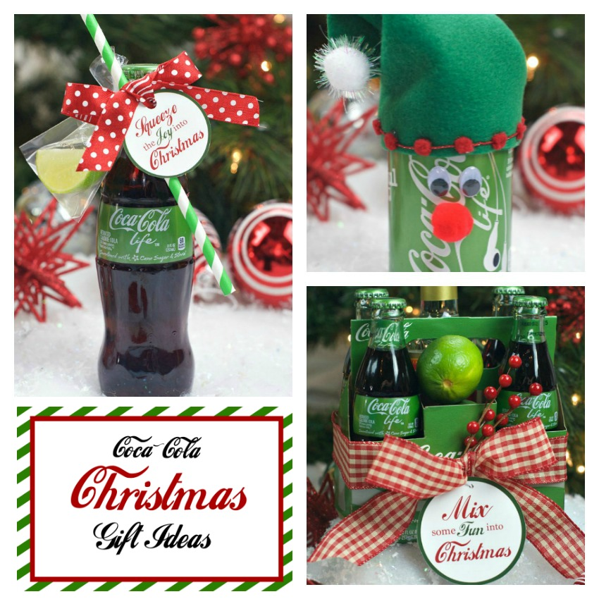 25 fun christmas gifts for friends and neighbors fun squared coca cola gift idea negle Image collections