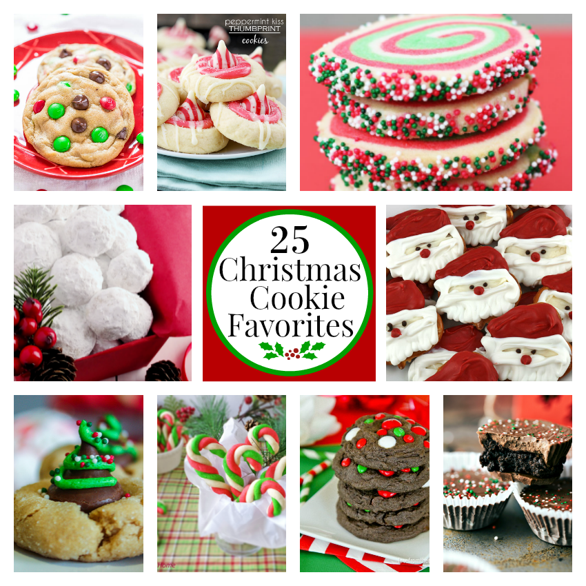 25 Fun Favorite Christmas Cookies