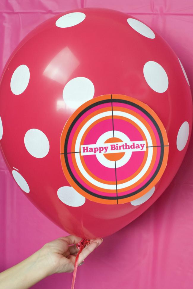 Blaster Tag Balloon