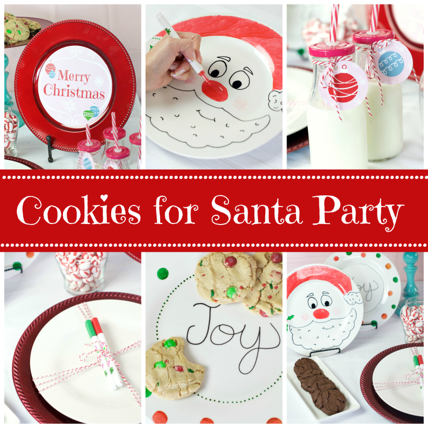 cookies for santa party cookies for santa kids christmas party - Childrens Christmas Party Decoration Ideas