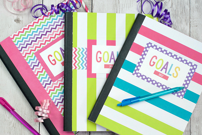 DIY Planner & Goal Setting Worksheet