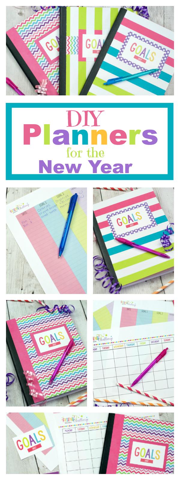 DIY Planner and Goal Setting Worksheet Printables