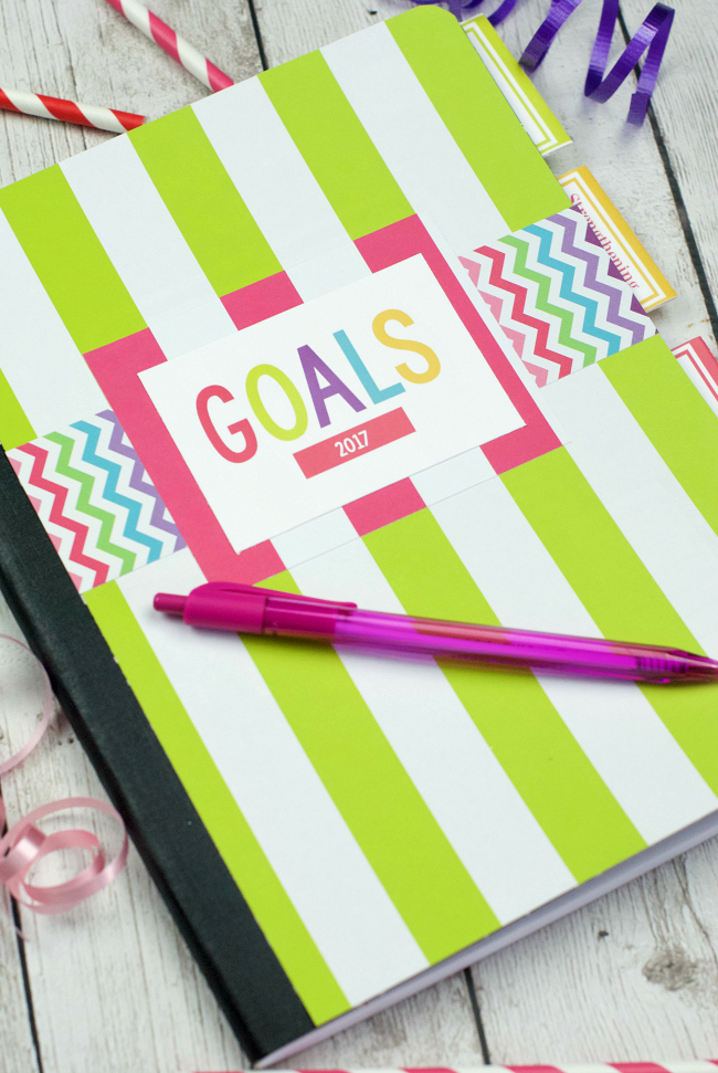 DIY Planners and Goal Setting Worksheets