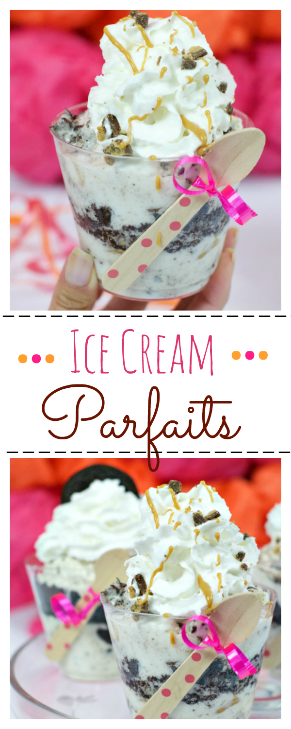 Ice Cream Parfaits in a Cup-Fun Treat for Any Occasion!