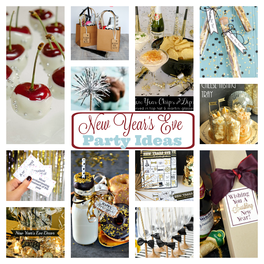 New Years Ideas: Fun New Year's Eve Party Ideas