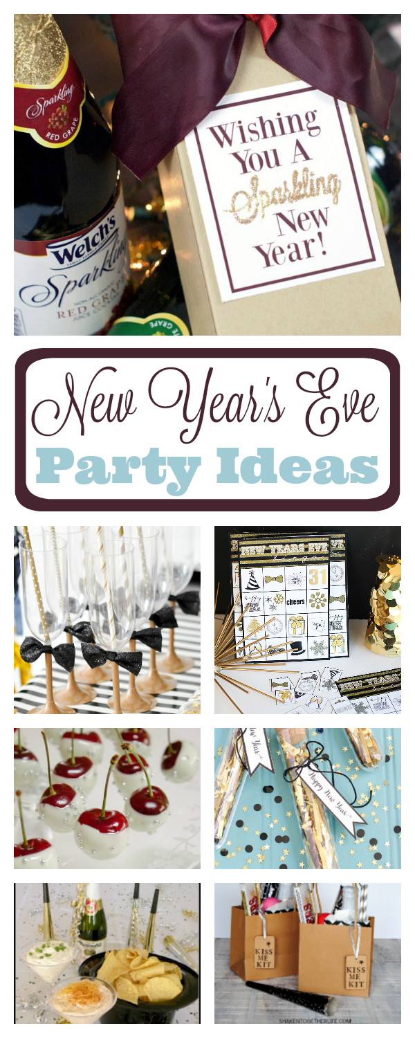 Fun New Year\'s Eve Party Ideas – Fun-Squared