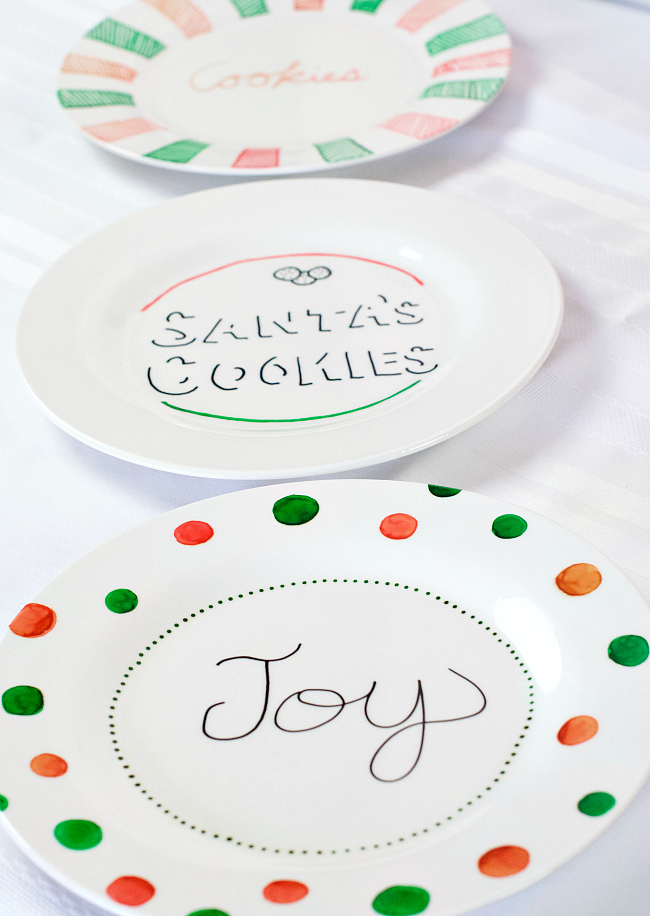 Paint your own Christmas Plate