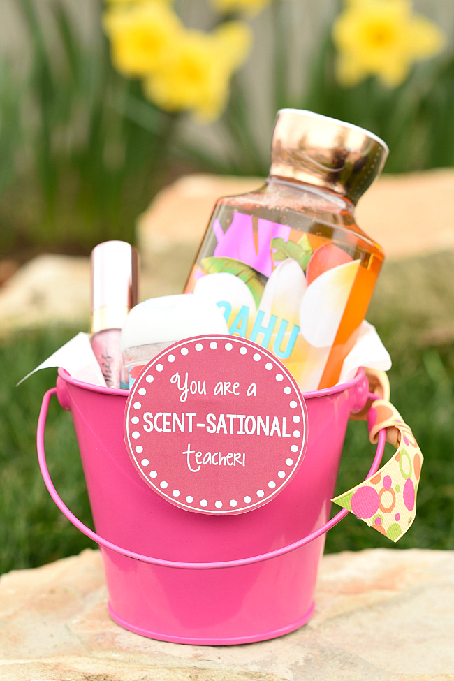 Fun teacher appreciation week ideas fun squared scentsational teacher gift idea negle Images