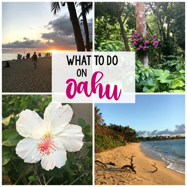Fun Things to do on Oahu Hawaii
