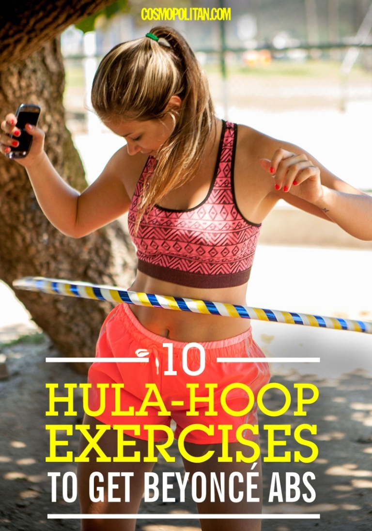 Hula Hoops for Strong Abs