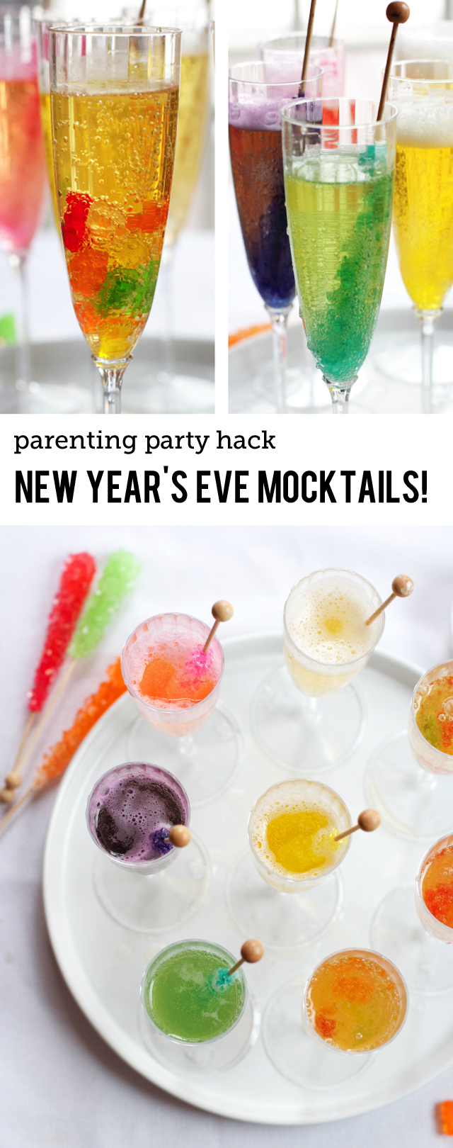 New Year's Eve Kids Drinks