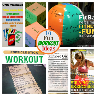 10 Fun Workout Ideas